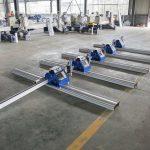 2 * 3 m पोर्टेबल चीन बनाया छोटे सस्ते कम लागत सीएनसी प्लाज्मा काटने की मशीन है