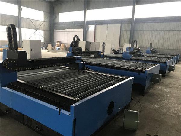 अलीबाबा चीन शीट धातु प्लेटें स्टेनलेस स्टील के लिए सीएनसी प्लाज्मा कटर प्लाज्मा काटने की मशीन 1325