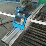 कट 3-3 छोटे पानी जेट काटने की मशीन प्लाज्मा और लौ / पोर्टेबल सीएनसी प्लाज्मा काटने की मशीन