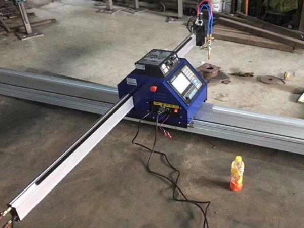 चीन CE के साथ सस्ते 15002500mm धातु पोर्टेबल सीएनसी प्लाज्मा काटने की मशीन