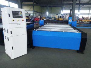 चीन सीएनसी प्लाज्मा काटने की मशीन हाइपर 125a मोटी धातु शीट 65a 85a 200a वैकल्पिक jbt-1530