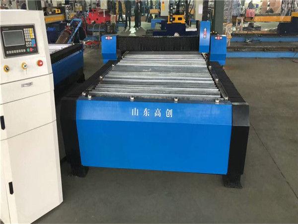 चीन Huayuan 100A प्लाज्मा काटना सीएनसी मशीन 10 मिमी प्लेट धातु
