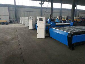 सीएनसी पोर्टेबल प्लाज्मा लौ काटने की मशीन टेबल / बेंच डेस्कटॉप / हार्डवेयर सीएनसी स्टेनलेस स्टील काटने की मशीन