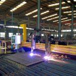 गैन्ट्री सीएनसी प्लाज्मा कटिंग मशीन फ्लेम कटिंग मशीन स्टील प्लेट