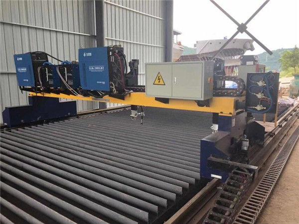 गर्म बिक्री धातु की थाली सीएनसी लौ गैस काटने की मशीन