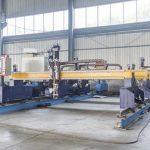 बुद्धिमान गैन्ट्री प्रकार सीएनसी धातु प्लेट काटने की मशीन स्वचालित प्लाज्मा और लौ कटर मशीनरी