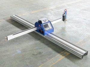 कम लागत छोटे स्टील प्लेट सीएनसी प्लाज्मा लौ काटने की मशीन