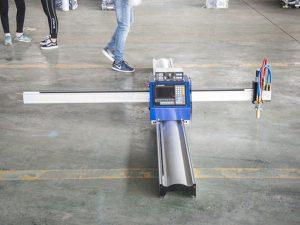 नई तकनीक पोर्टेबल प्रकार सीएनसी प्लाज्मा काटने की मशीन की कीमत छोटे व्यापार विनिर्माण मशीनों