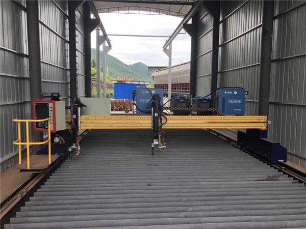 सर्वो मोटर के साथ सटीक सीएनसी प्लाज्मा कटिंग मशीन सटीक 13000 मिमी