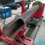 घूर्णन शाफ्ट सीएनसी सर्कल ट्यूब कम लागत सीएनसी प्लाज्मा काटने की मशीन