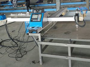 छोटे कटर पोर्टेबल सीएनसी प्लाज्मा / गैस काटने की मशीन