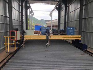 स्टील शीट 1500x3000mm आकार सीएनसी प्लाज्मा शीट धातु काटने की मशीन