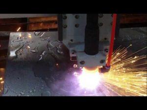 गर्म बिक्री के लिए पानी ठंडा करने के साथ सीएनसी प्लाज्मा लौ काटने की मशीन