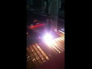 उच्च गुणवत्ता प्लाज्मा पावर के साथ औद्योगिक सीएनसी प्लाज्मा काटने की मशीन की आपूर्ति