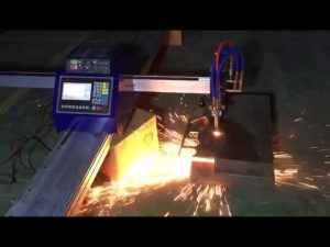 कम लागत मिनी पोर्टेबल सीएनसी पाइप लौ लौ काटने की मशीन धातु स्टेनलेस स्टील काटने के लिए