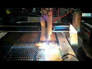 कम लागत प्लाज्मा कटर शीट स्टील सीएनसी छोटे प्लाज्मा काटने की मशीन