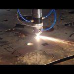स्टेनलेस स्टील धातु लोहे के लिए चीन व्यापार आश्वासन सस्ते दाम पोर्टेबल कटर सीएनसी प्लाज्मा काटने की मशीन में किया जाता है