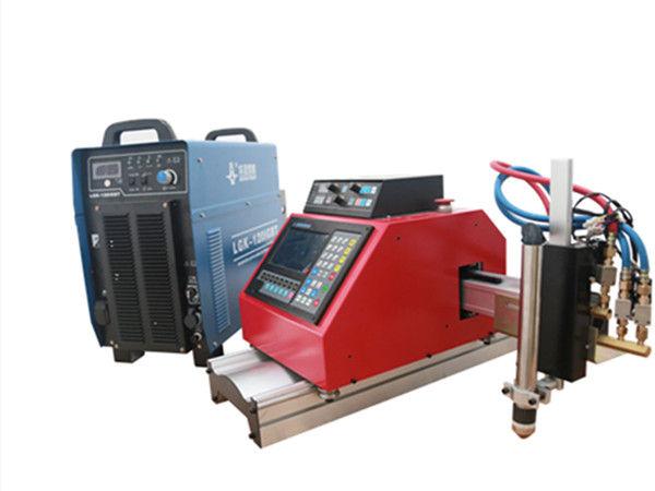 THC के साथ पोर्टेबल सीएनसी प्लाज्मा, गैस, लौ, ऑक्सीजेन शीट मेटल कटिंग मशीन