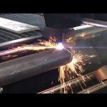 धातु पाइप के लिए रोटरी, प्लाज्मा कटर के साथ बिक्री सीएनसी प्लाज्मा काटने की मशीन